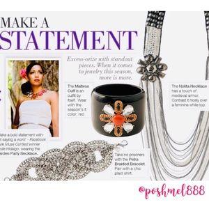 Stella & Dot Jewelry - ::S&D[RetiredRareLtdEd]⚔️Nolita Statement Necklace